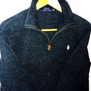Polo by Ralph Lauren Blue Pullover Sweatshirt L